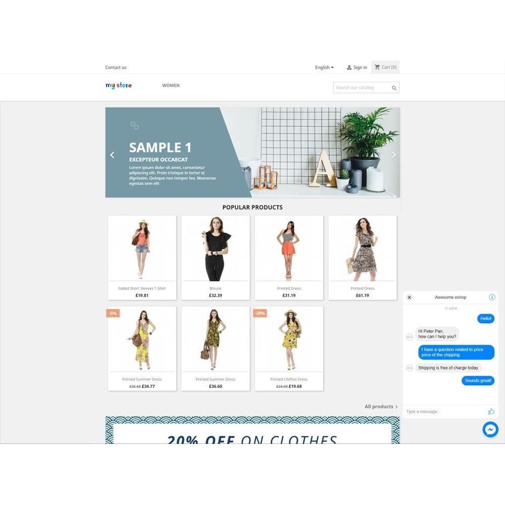 module - Support & Online-Chat - Customer Chat - Messenger Platform - 3
