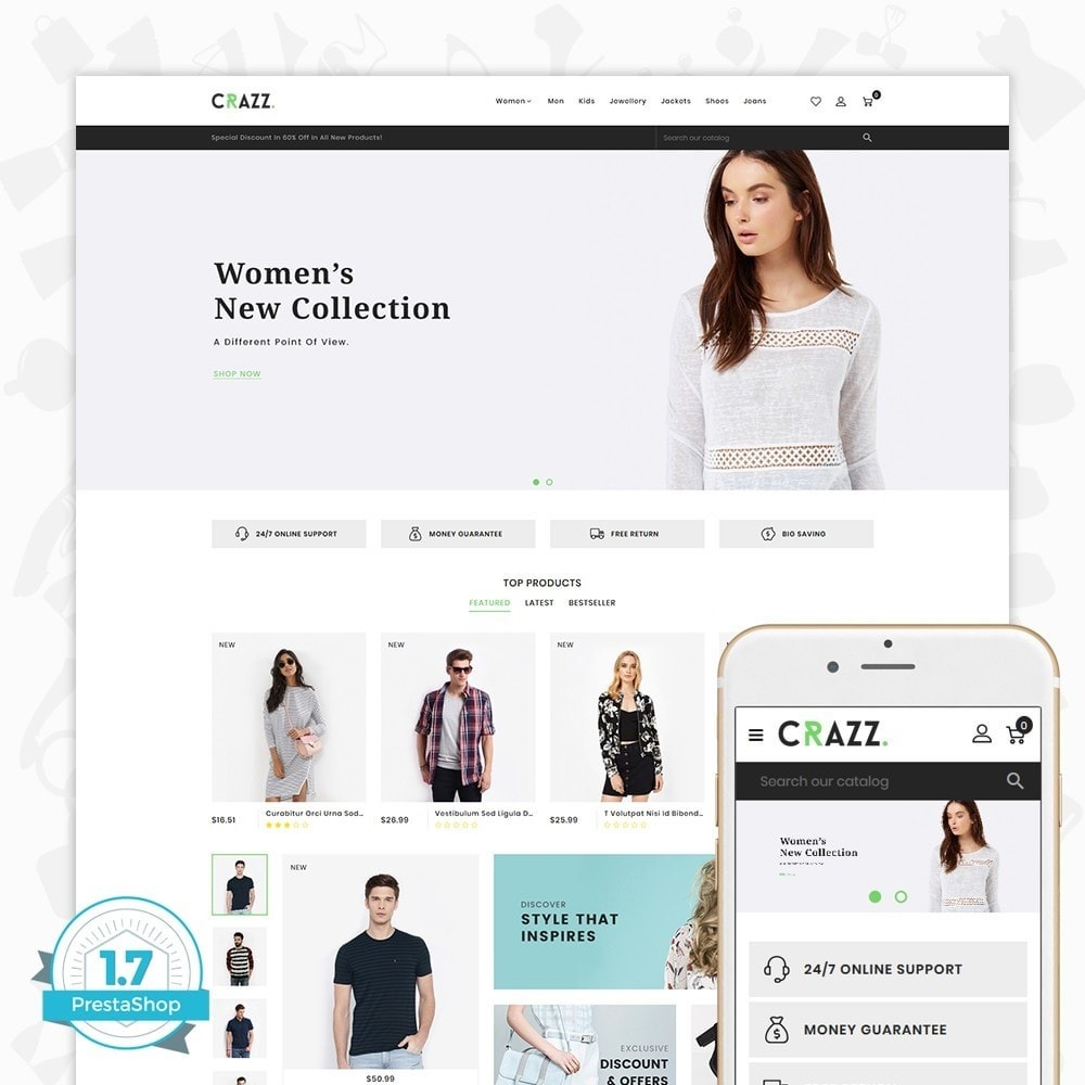 theme - Moda & Calzature - Crazz - The Fashion Store - 1