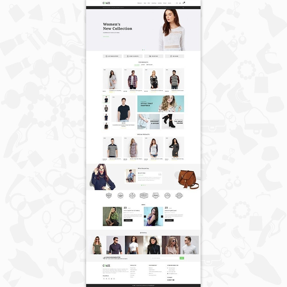theme - Moda & Calzature - Crazz - The Fashion Store - 2