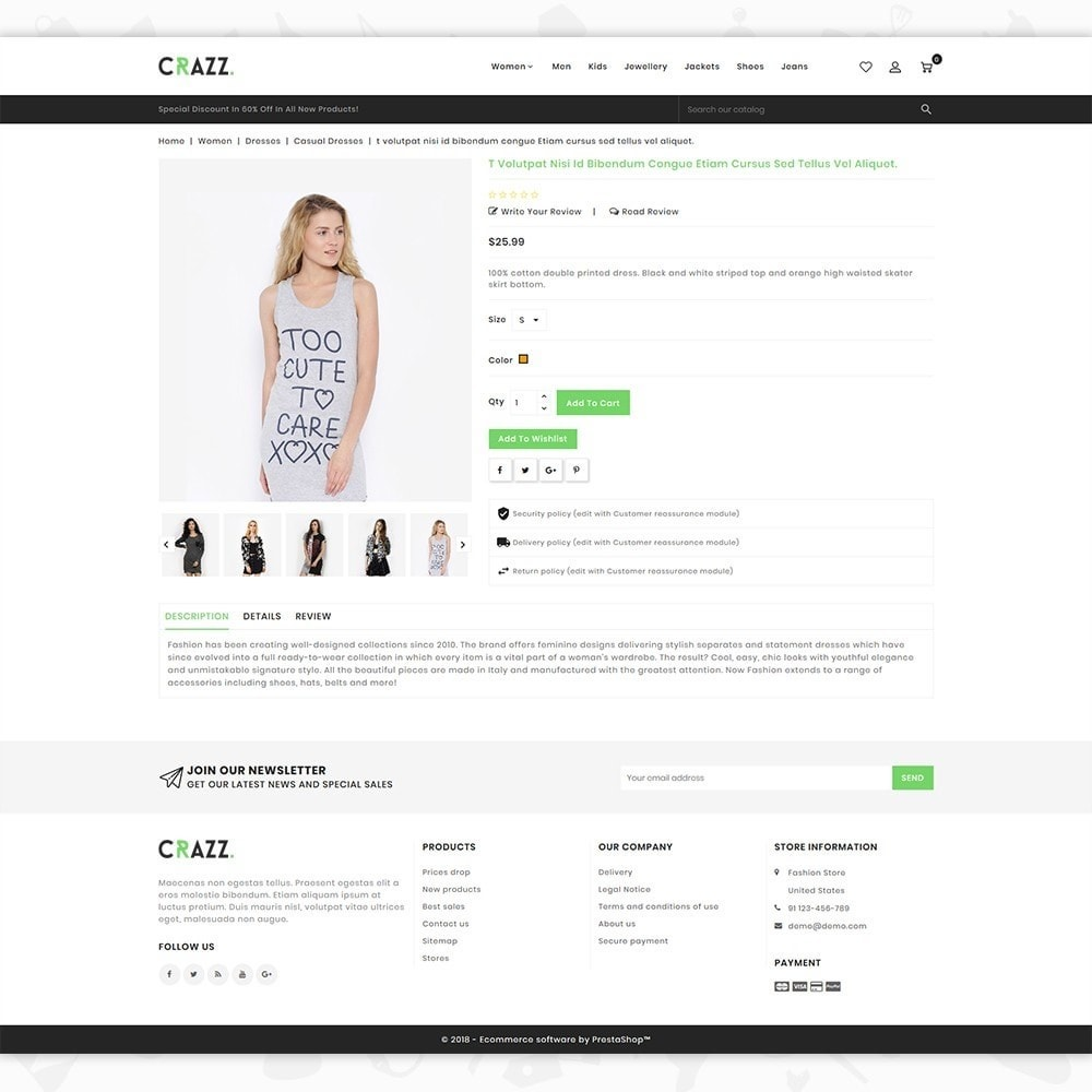 theme - Moda & Calzature - Crazz - The Fashion Store - 5