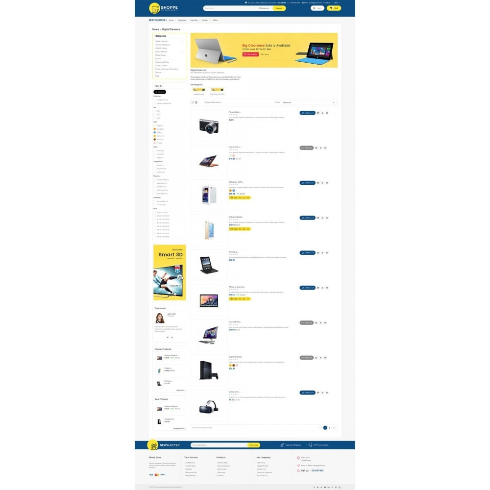 theme - Electronique & High Tech - Mega Shoppe Electronics - 5