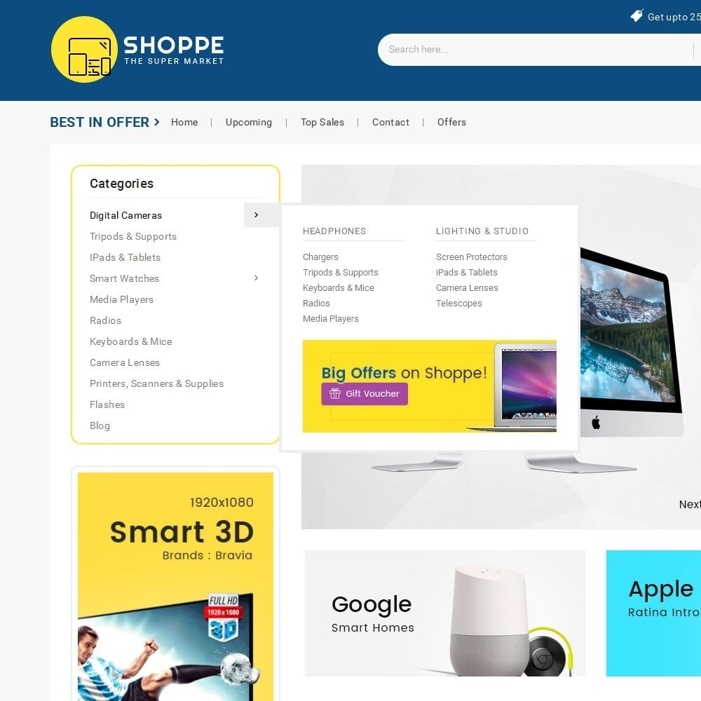 theme - Electronique & High Tech - Mega Shoppe Electronics - 10
