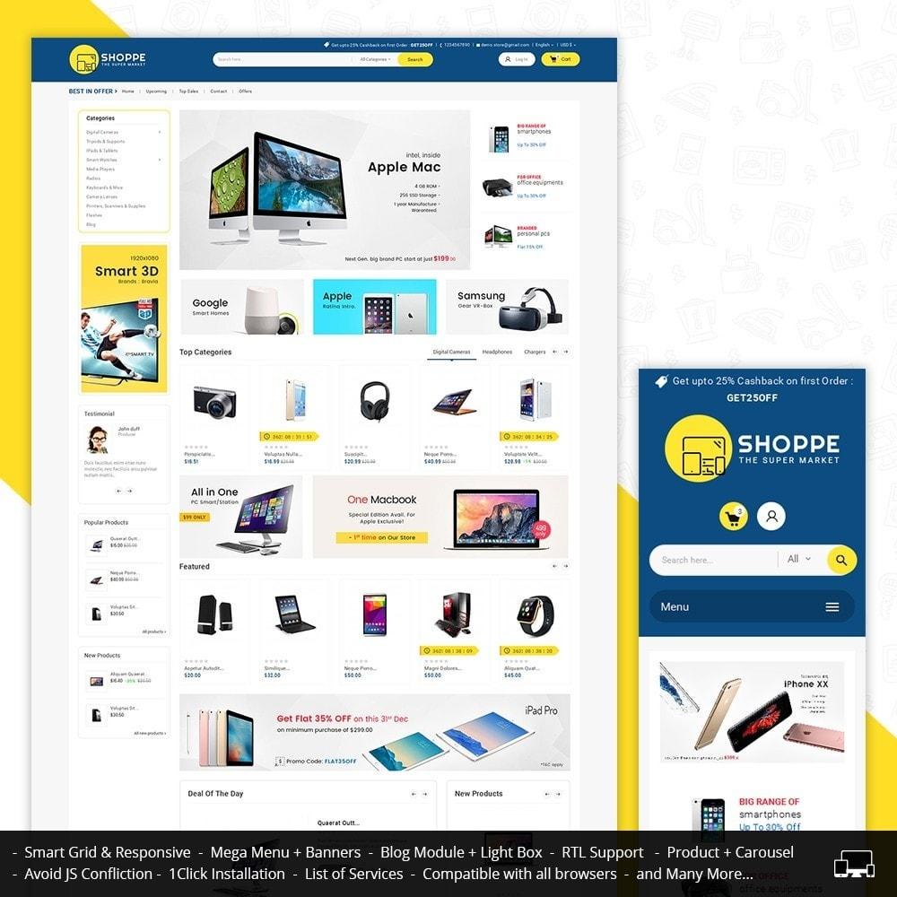 theme - Electrónica e High Tech - Mega Shoppe Electronics - 2