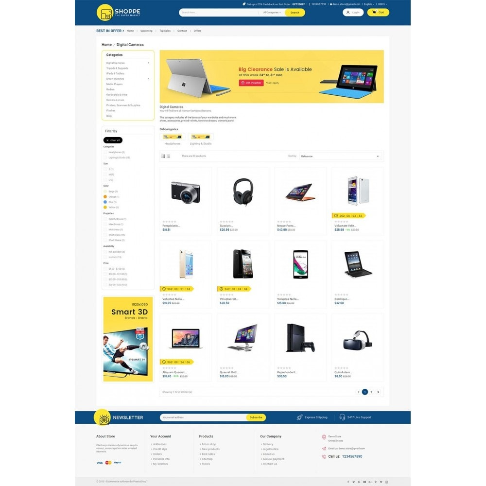 theme - Elettronica & High Tech - Mega Shoppe Electronics - 4