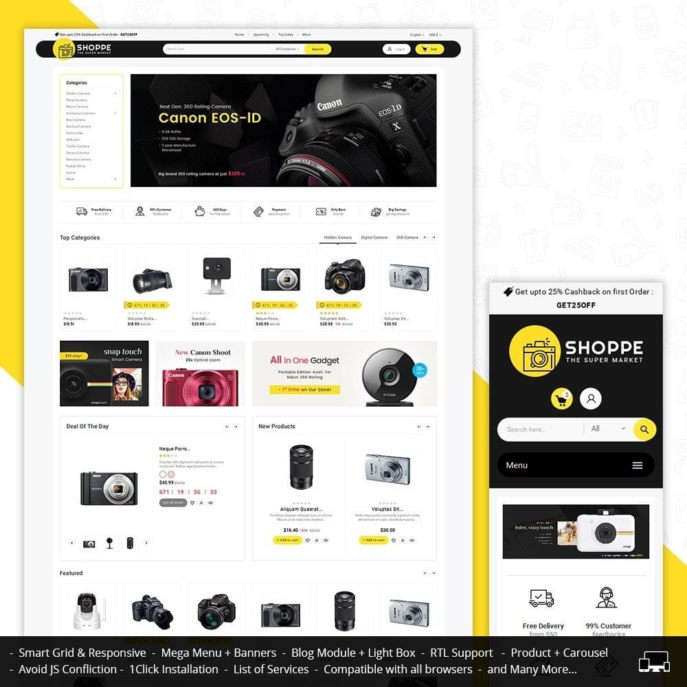 theme - Electronique & High Tech - Mega Shoppe Camera - 2