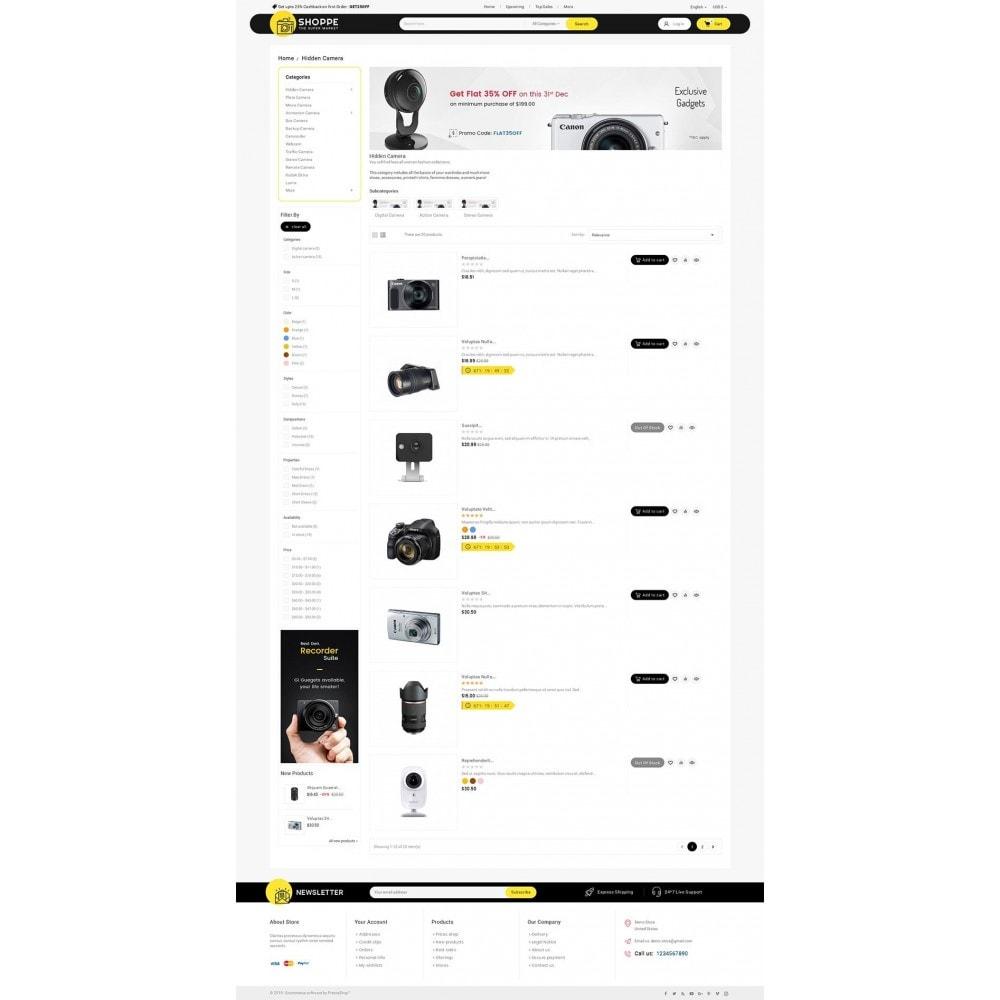 theme - Electronique & High Tech - Mega Shoppe Camera - 5