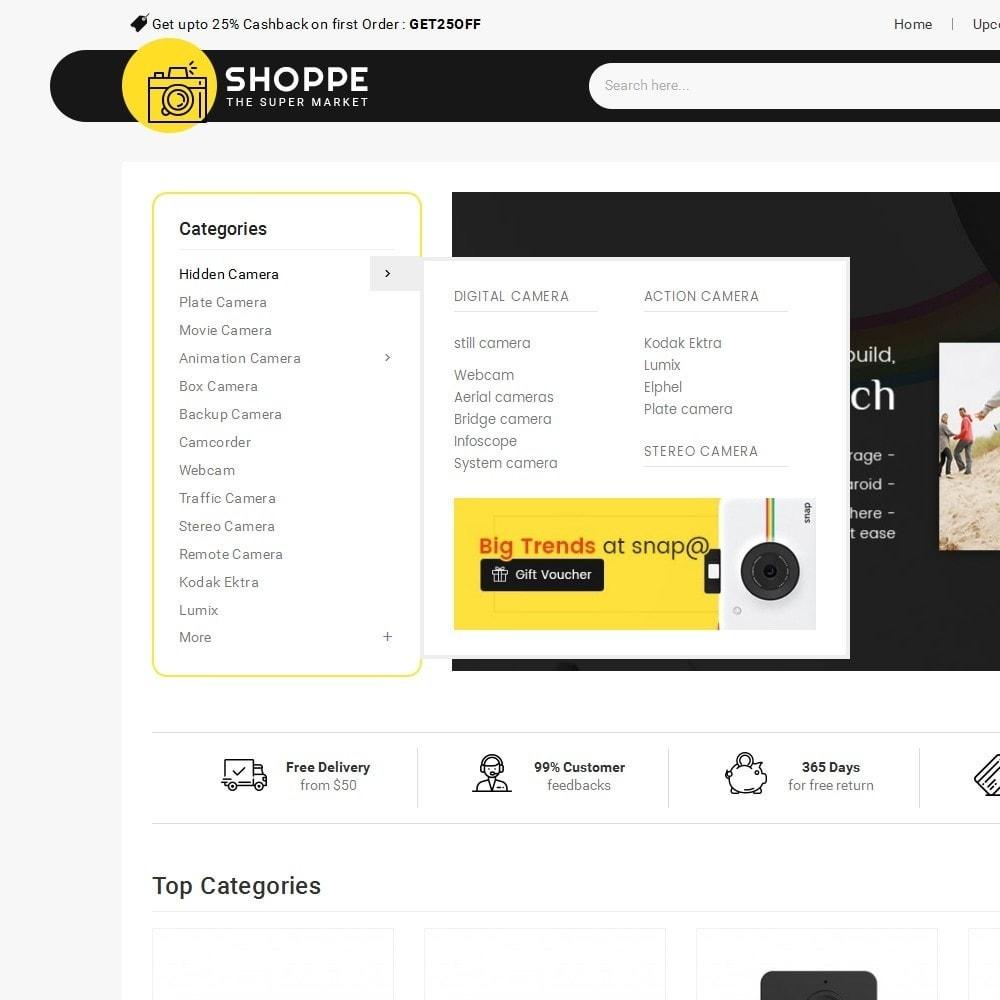 theme - Electronique & High Tech - Mega Shoppe Camera - 10