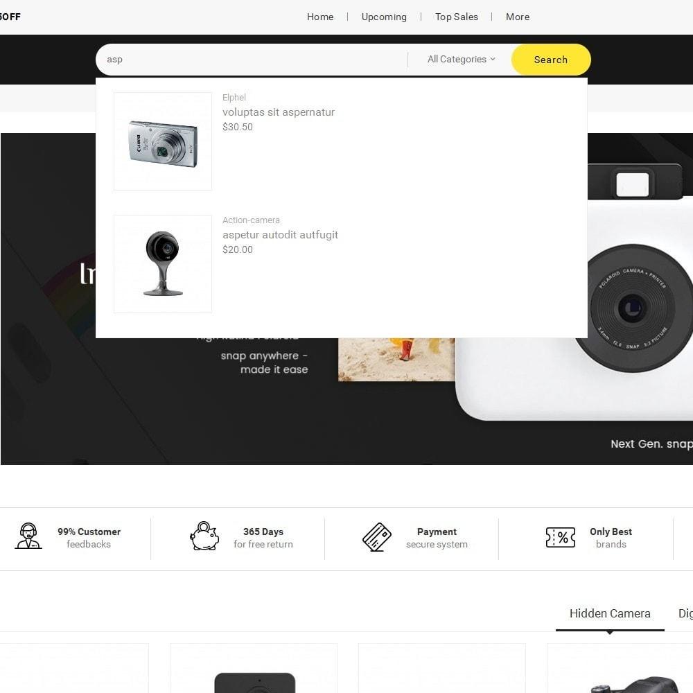 theme - Electronique & High Tech - Mega Shoppe Camera - 11