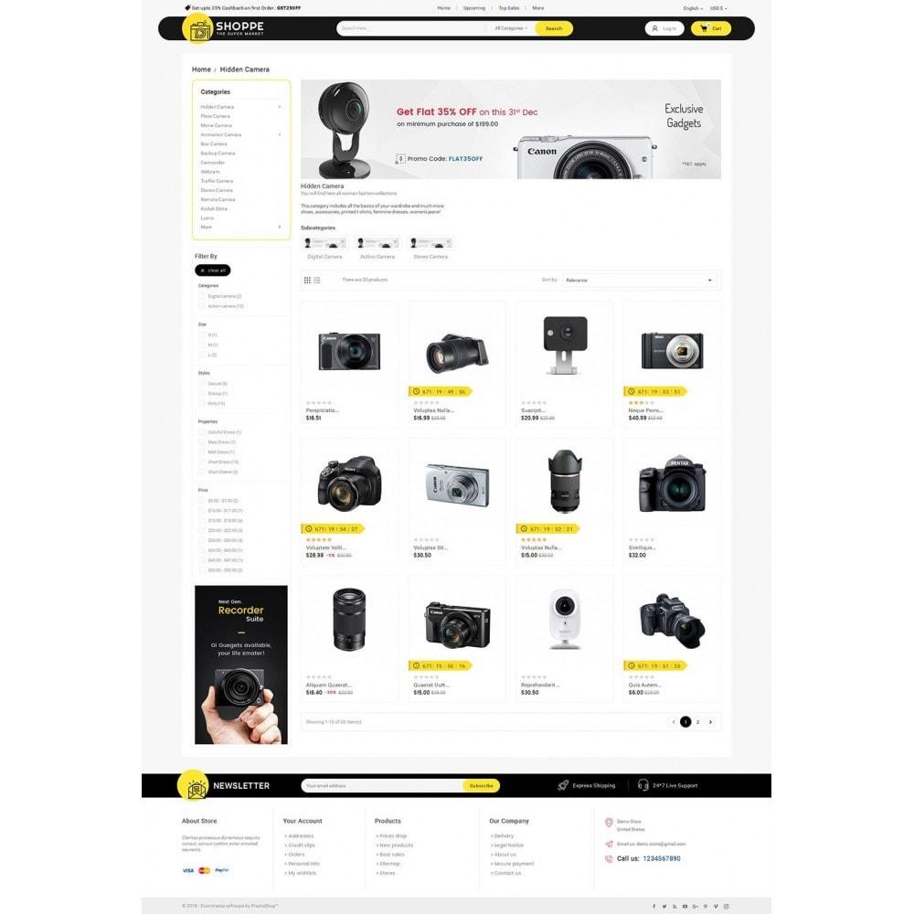 theme - Electrónica e High Tech - Mega Shoppe Camera - 4