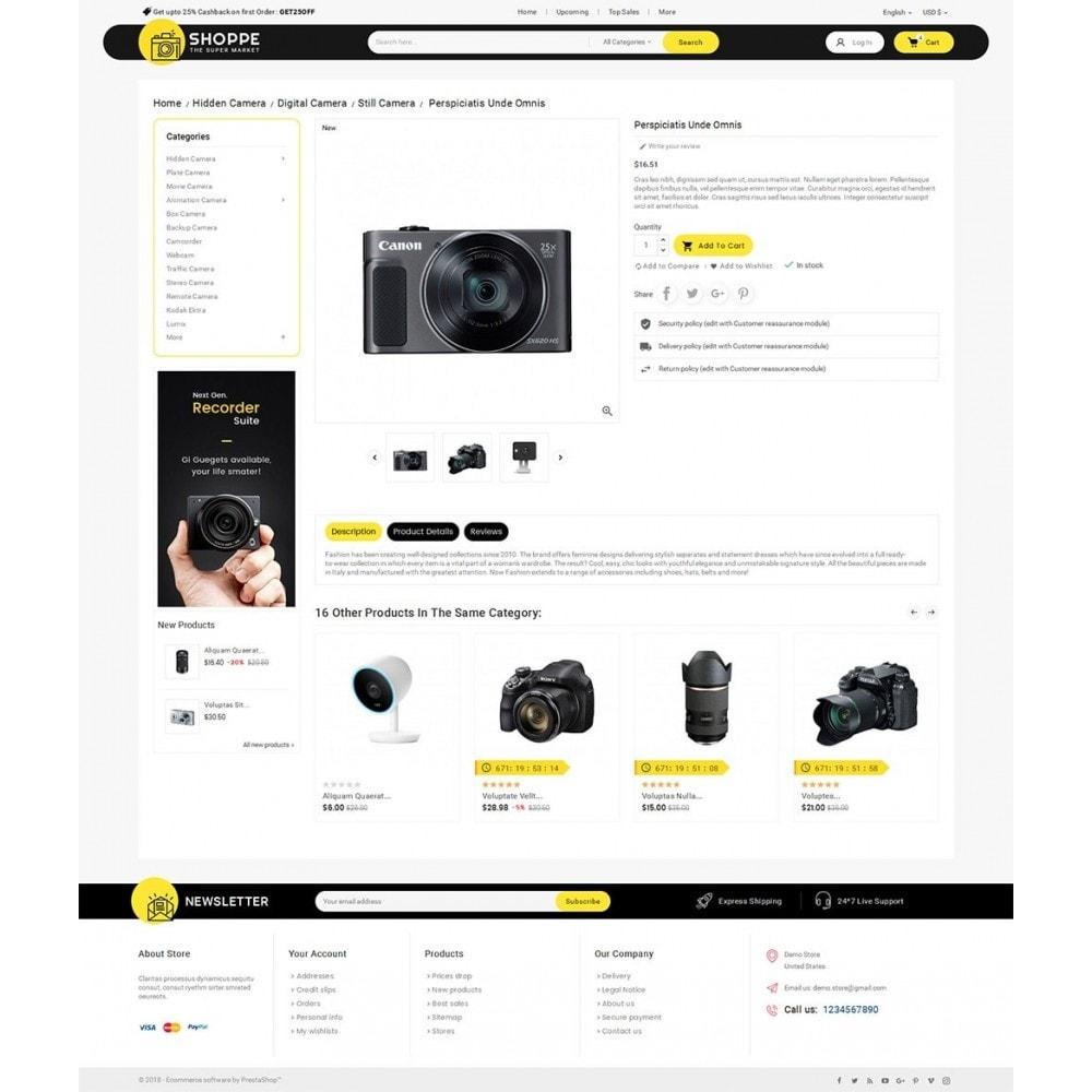 theme - Electrónica e High Tech - Mega Shoppe Camera - 6