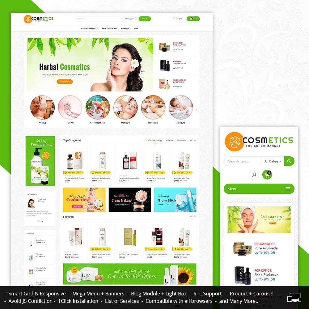 theme - Santé & Beauté - Mega Shoppe Bio Cosmetics - 2