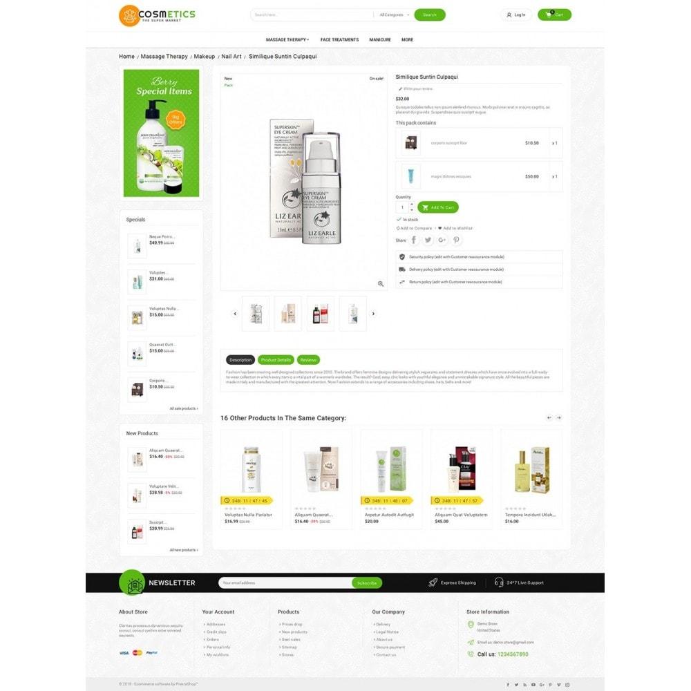 theme - Santé & Beauté - Mega Shoppe Bio Cosmetics - 6