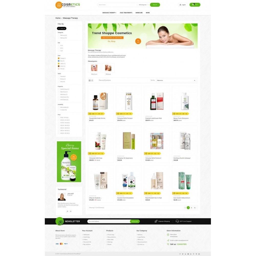 theme - Salud y Belleza - Mega Shoppe Bio Cosmetics - 4