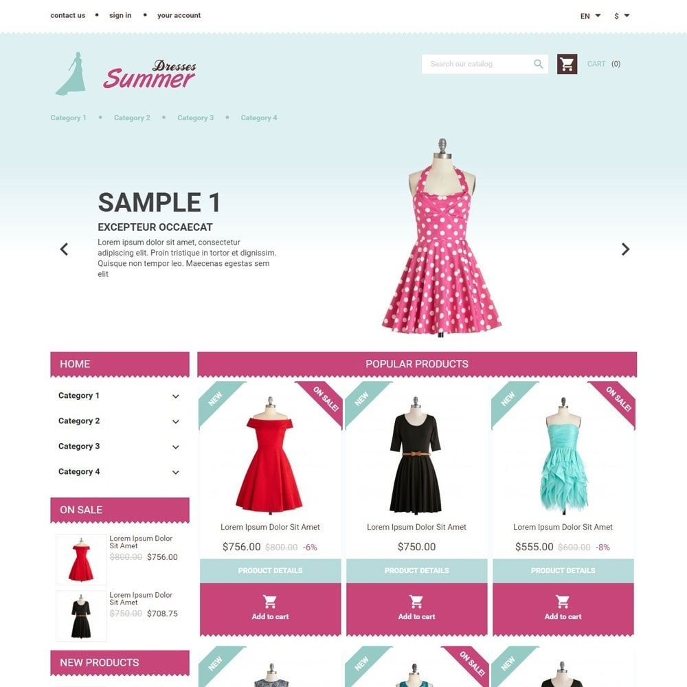 theme - Mode & Schoenen - SummerDresses - 1