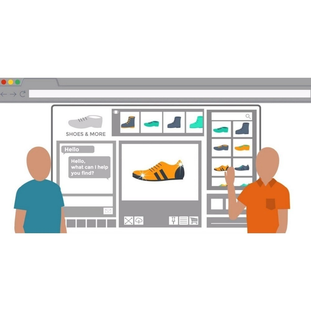 module - Support & Online-Chat - Oct8ne - Live chat mit coviewer - 2