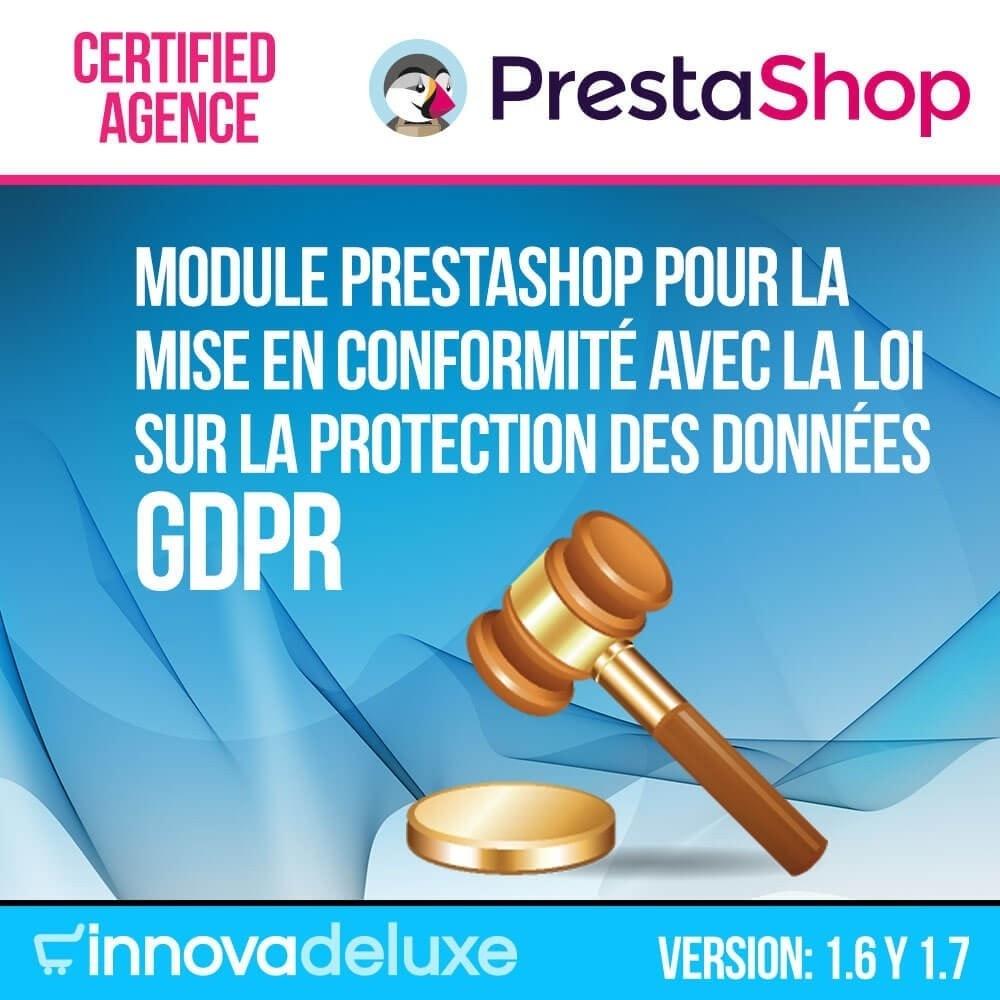 module - Législation - Conformité à la Loi sur la protection des données GDPR - 1