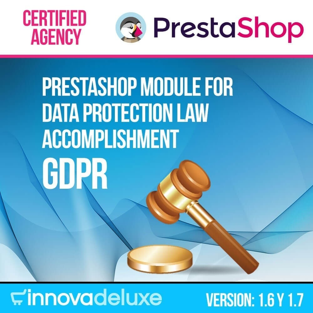 module - Wzmianki prawne - Data privacy extended (data protection law) - GDPR - 1
