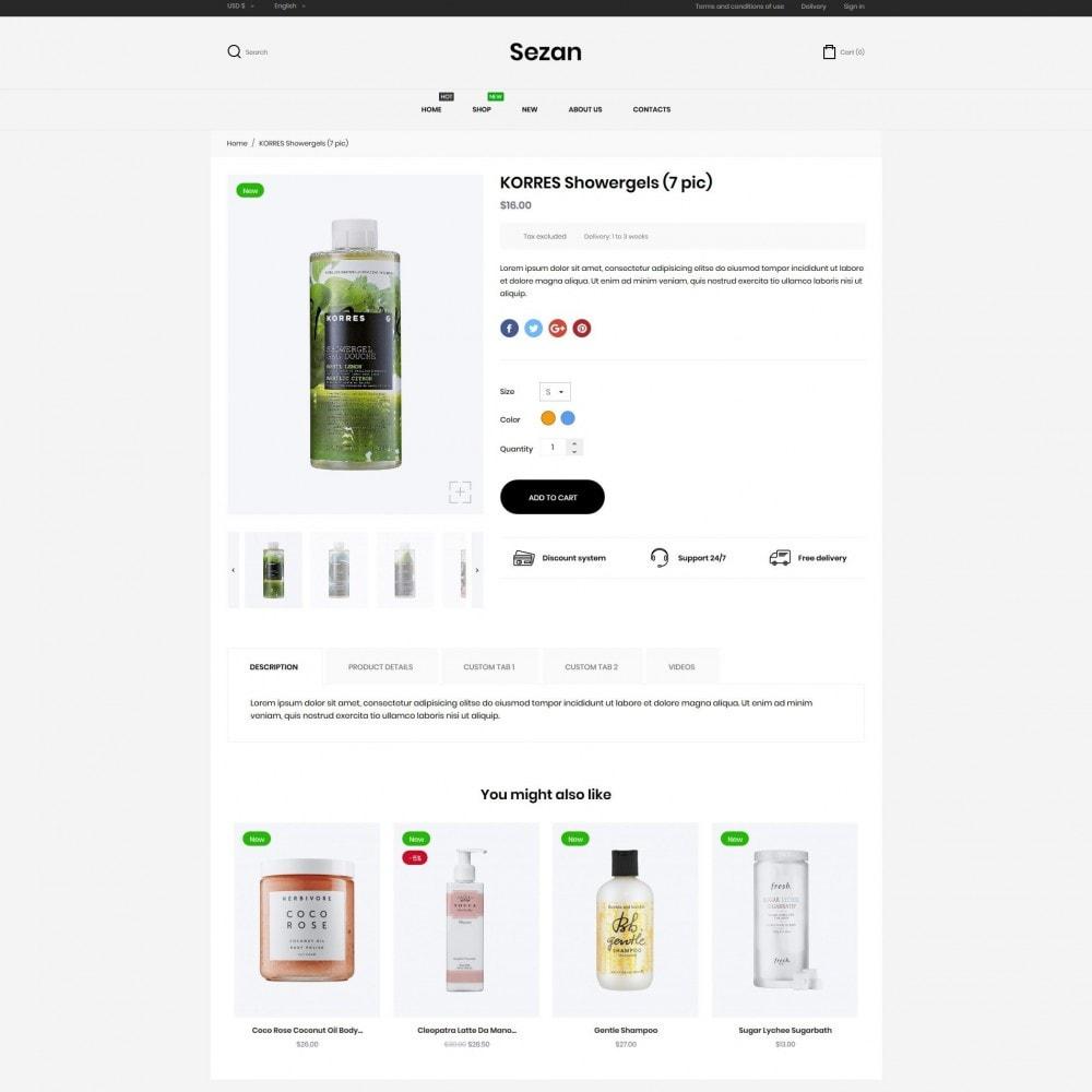 theme - Santé & Beauté - Sezan Cosmetics - 7