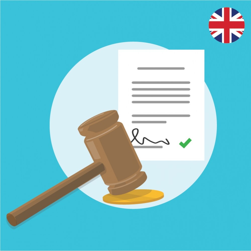 module - Legale (Legge Europea) - Custom Terms and Conditions for United Kingdom- GDPR Compliant Module - 1