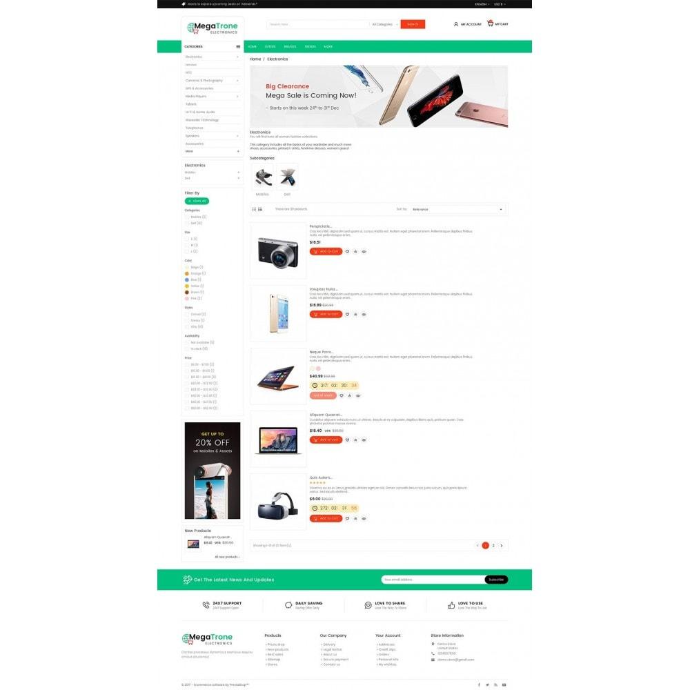 theme - Electrónica e High Tech - Mega Shop Electronics - 5