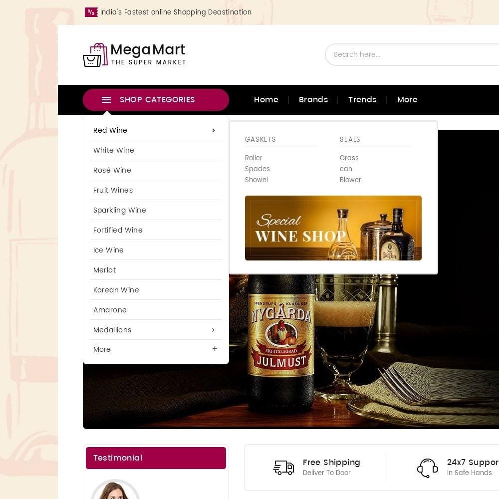 theme - Boissons & Tabac - Mega Mart Wine & Tobacco - 10