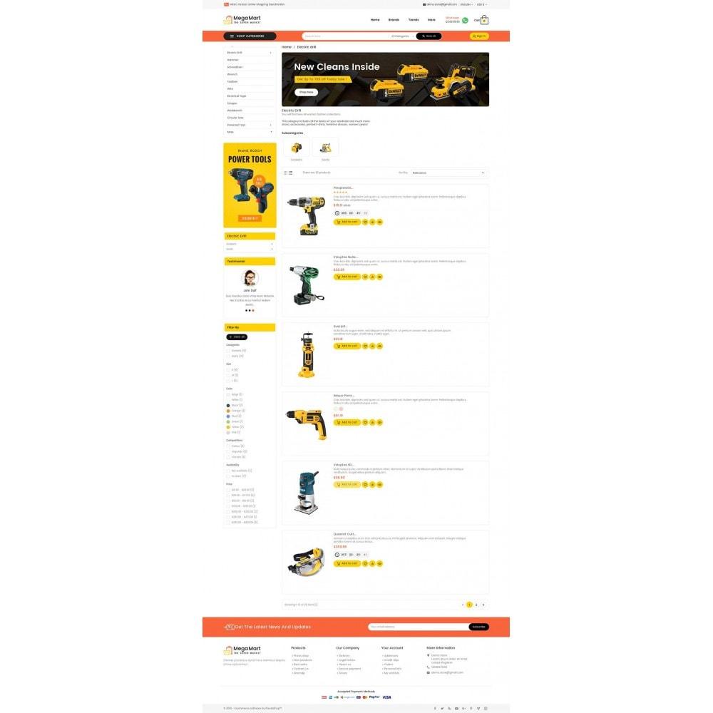 theme - Elektronik & High Tech - Mega Mart Tools Equipment - 5