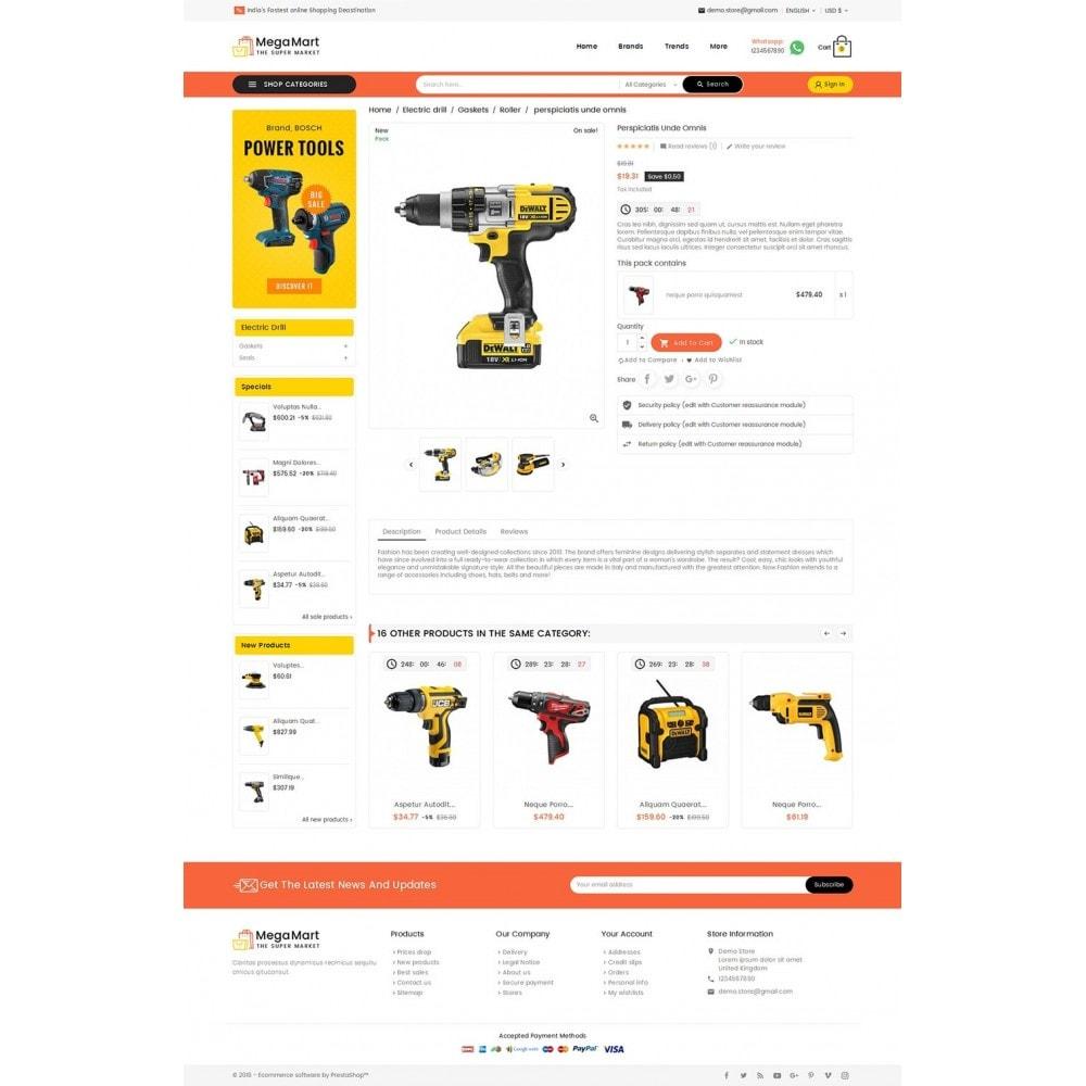 theme - Elektronik & High Tech - Mega Mart Tools Equipment - 6