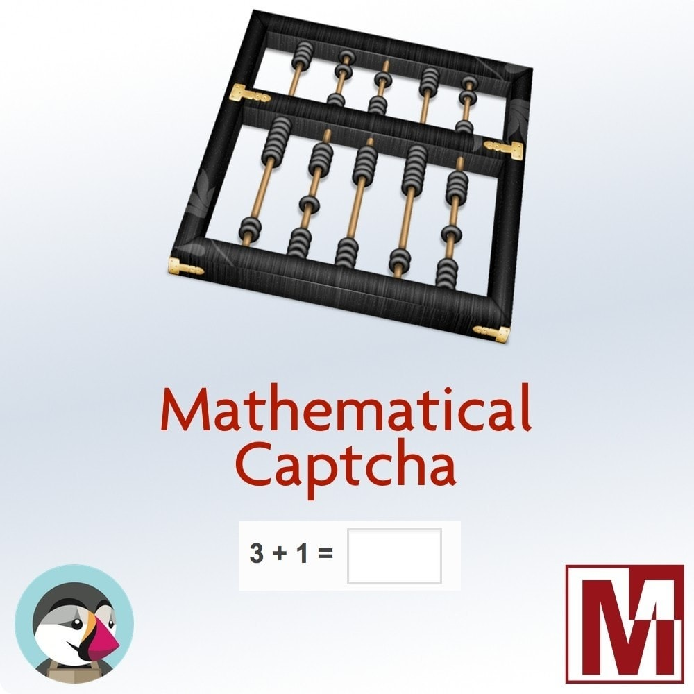 module - Aplicaciones Front Office - Mathematical Captcha, the best security solution - 1