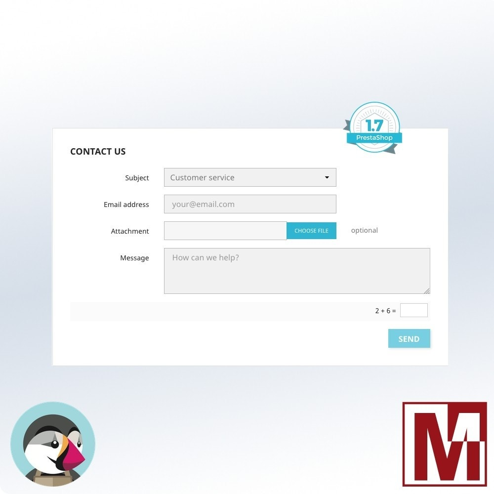 module - Aplicaciones Front Office - Mathematical Captcha, the best security solution - 2