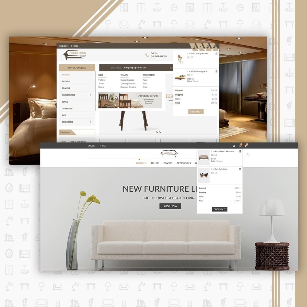 theme - Home & Garden - Mega Furniture Store - 6