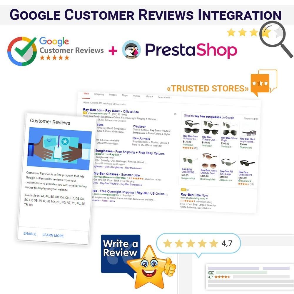 module - Естественная поисковая оптимизация - Google Customer Reviews Integration - 1
