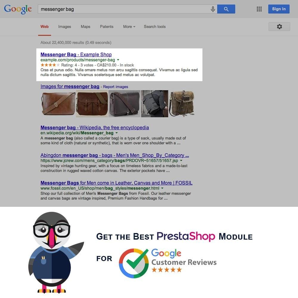 module - Естественная поисковая оптимизация - Google Customer Reviews Integration - 6