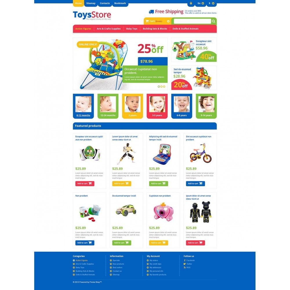 theme - Niños y Juguetes - Responsive Toys Store - 2