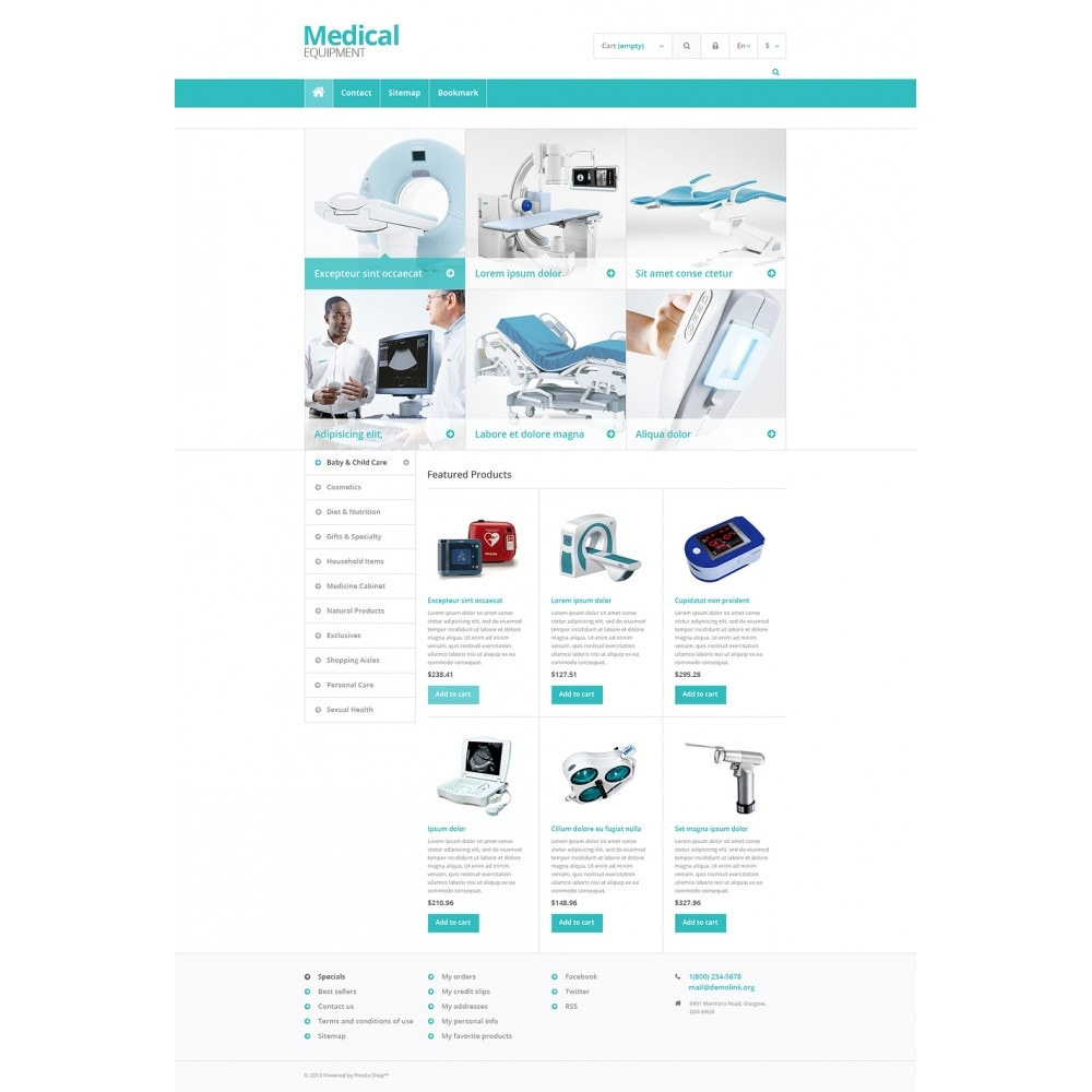 theme - Saúde & Beleza - Medical Equipment Store - 2