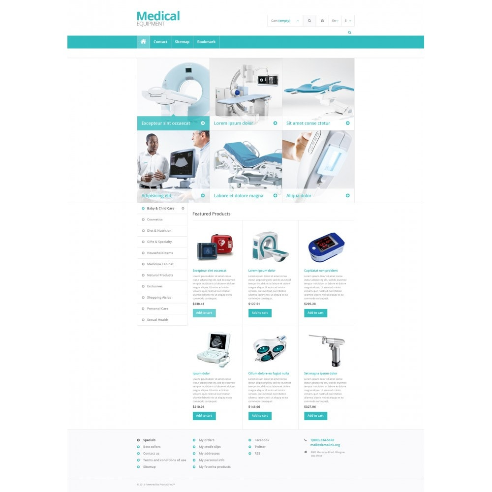 theme - Saúde & Beleza - Medical Equipment Store - 4