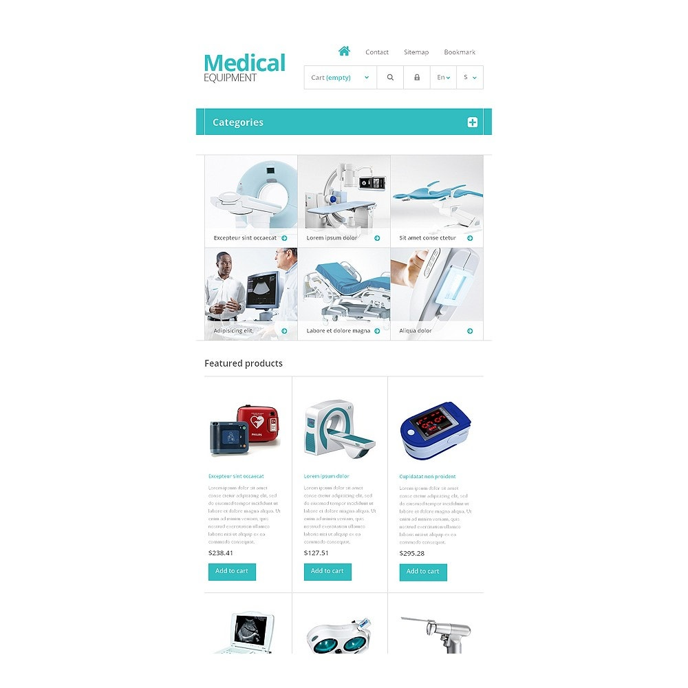 theme - Saúde & Beleza - Medical Equipment Store - 7