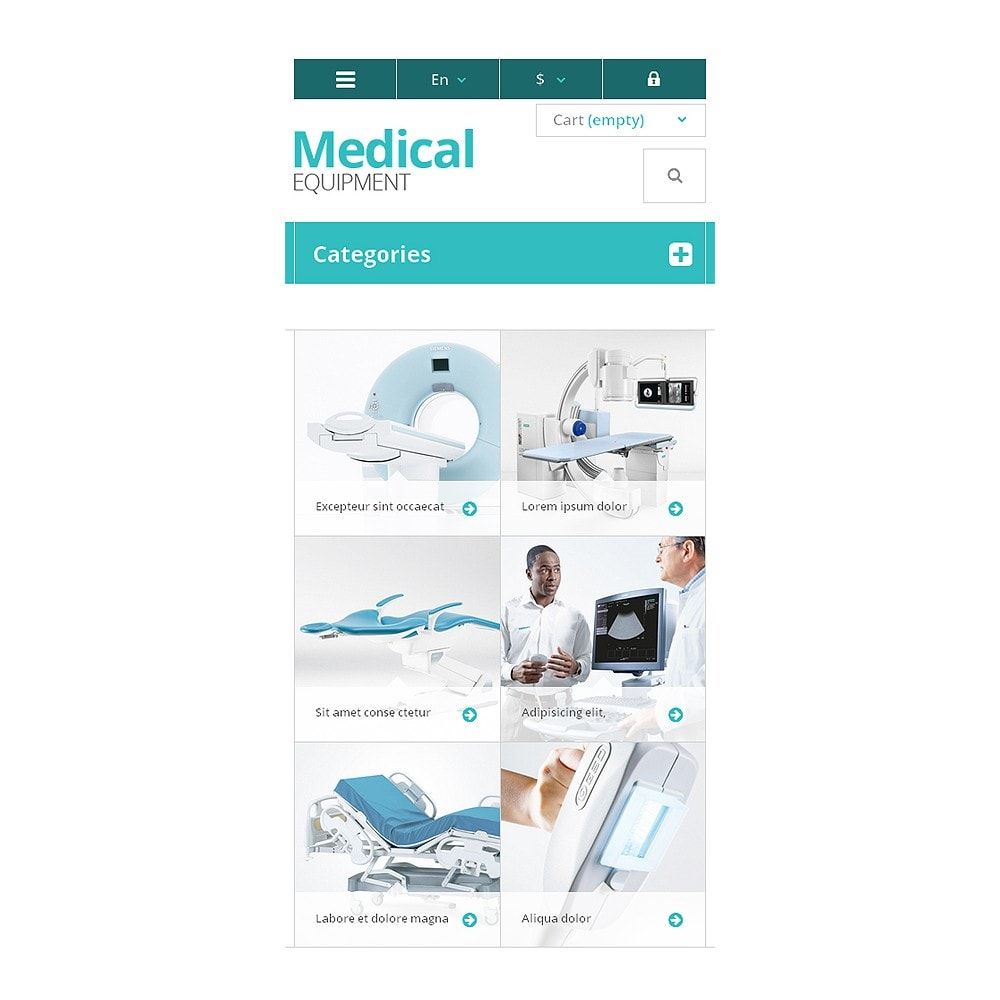 theme - Saúde & Beleza - Medical Equipment Store - 8