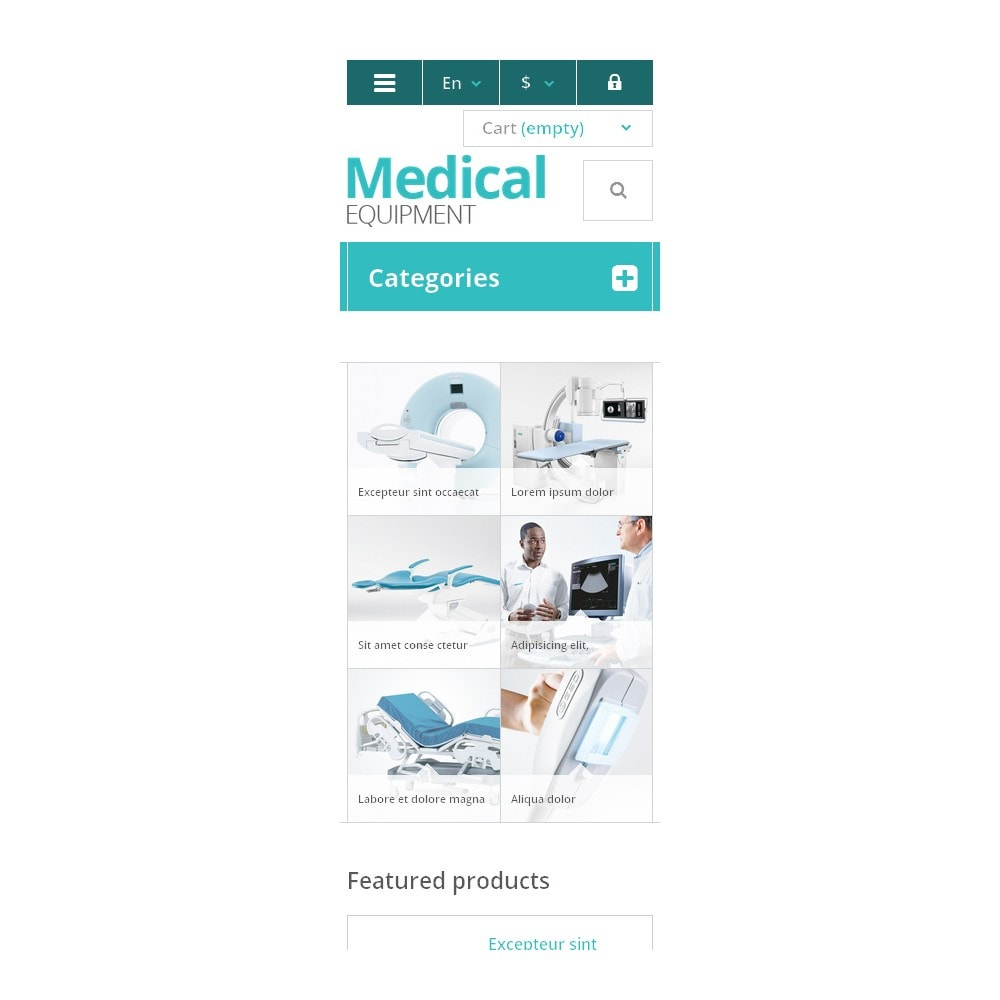 theme - Saúde & Beleza - Medical Equipment Store - 9