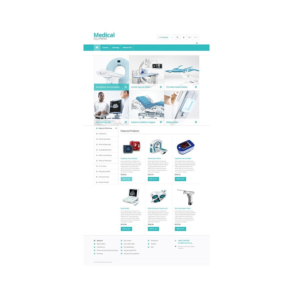 theme - Saúde & Beleza - Medical Equipment Store - 10
