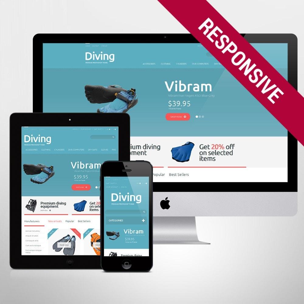theme - Sport, Activiteiten & Reizen - Diving Shop - 1