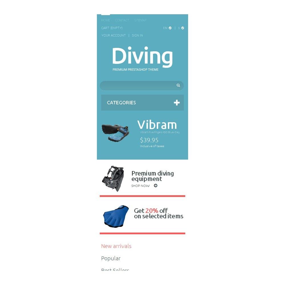 theme - Deportes, Actividades y Viajes - Diving Shop - 9