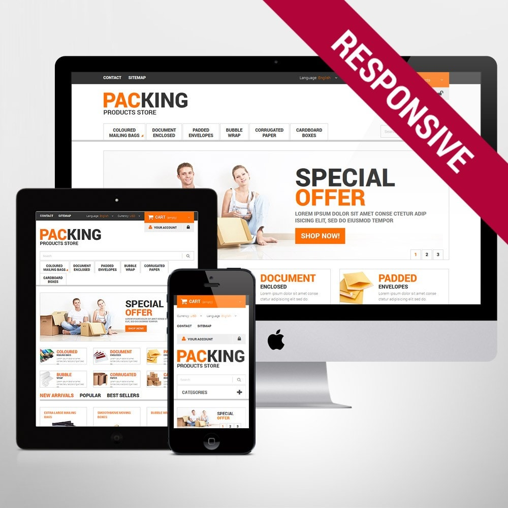 theme - Heim & Garten - Excellent Packing Services - 1