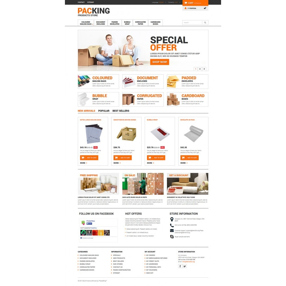theme - Heim & Garten - Excellent Packing Services - 2