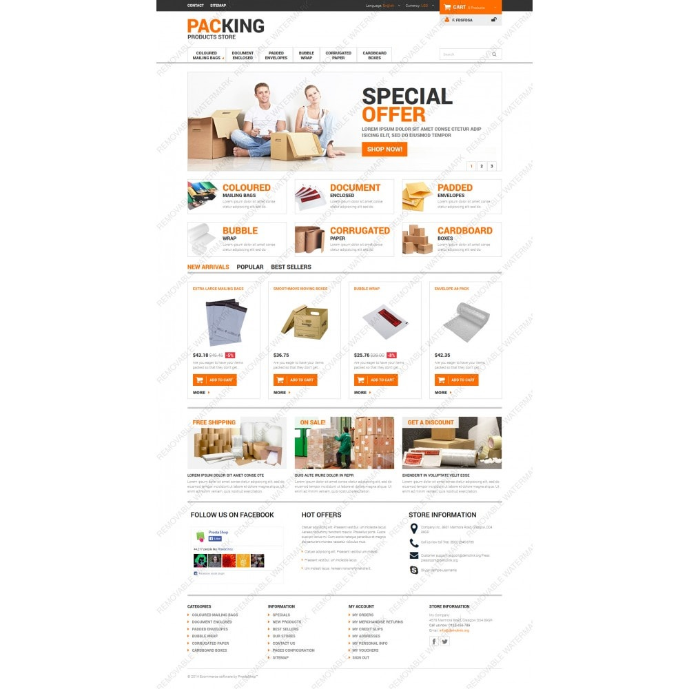 theme - Heim & Garten - Excellent Packing Services - 3