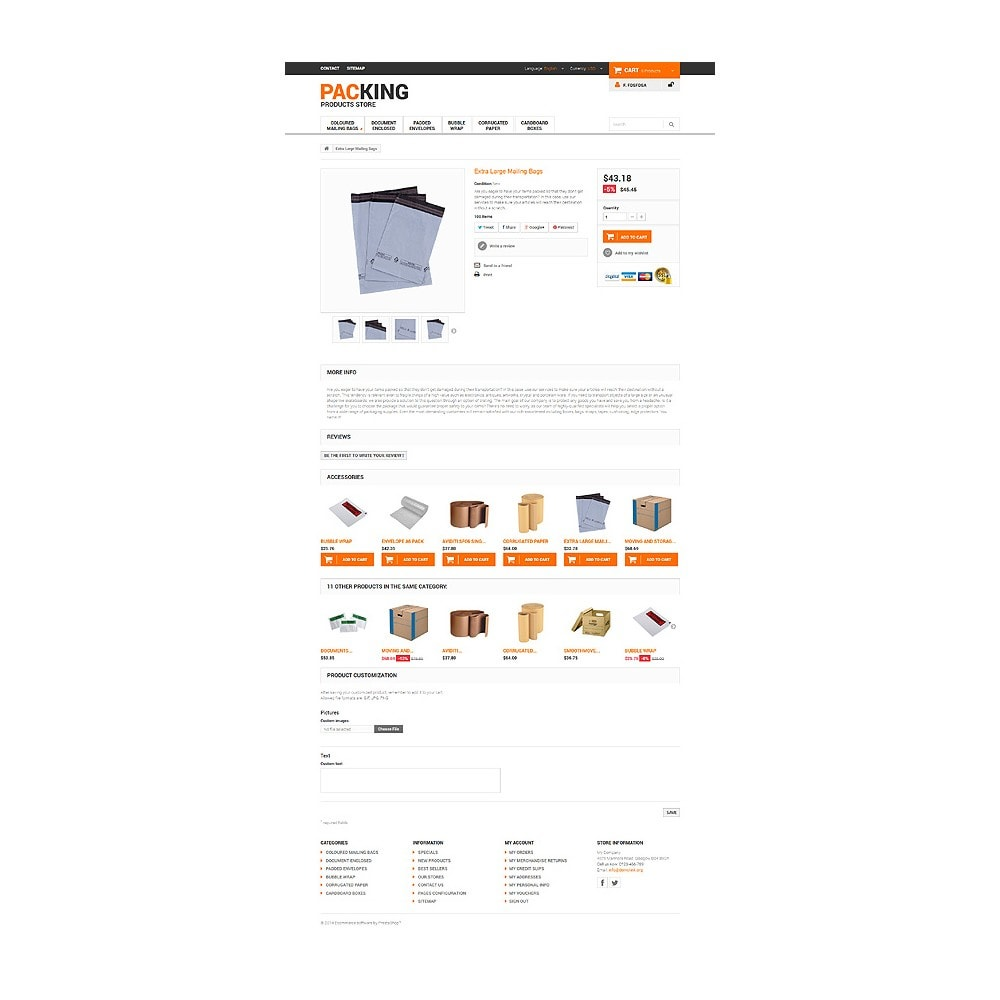 theme - Heim & Garten - Excellent Packing Services - 6