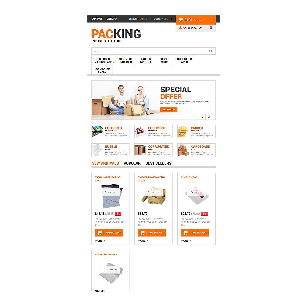 theme - Heim & Garten - Excellent Packing Services - 7