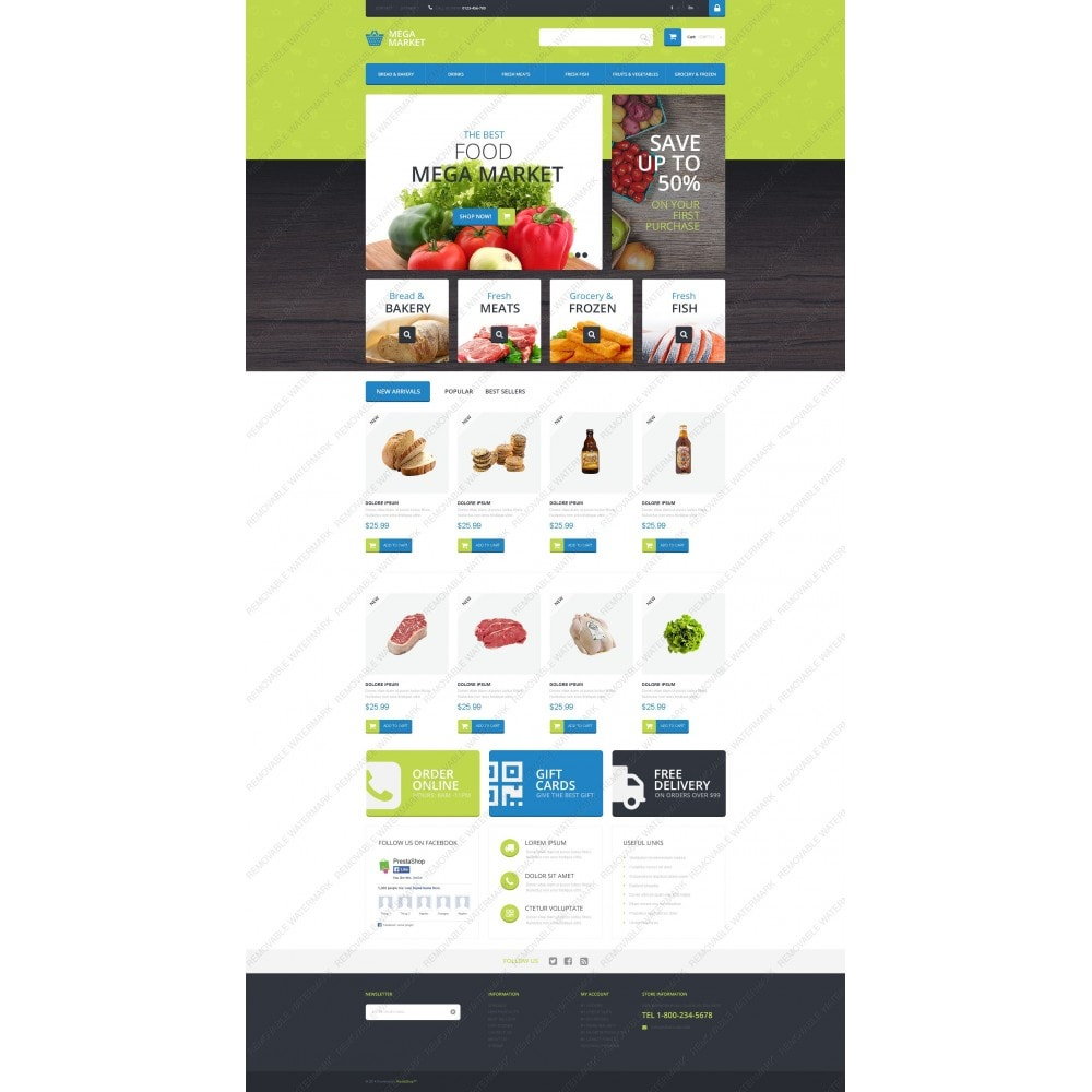 theme - Food & Restaurant - Food Shop - 5
