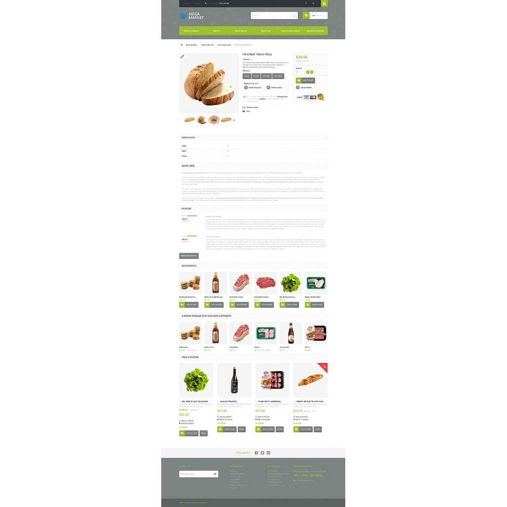 theme - Food & Restaurant - Food Shop - 6