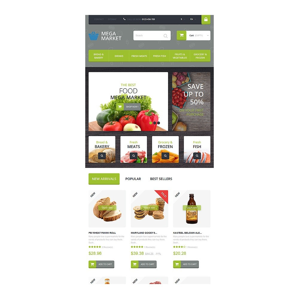 theme - Food & Restaurant - Food Shop - 7