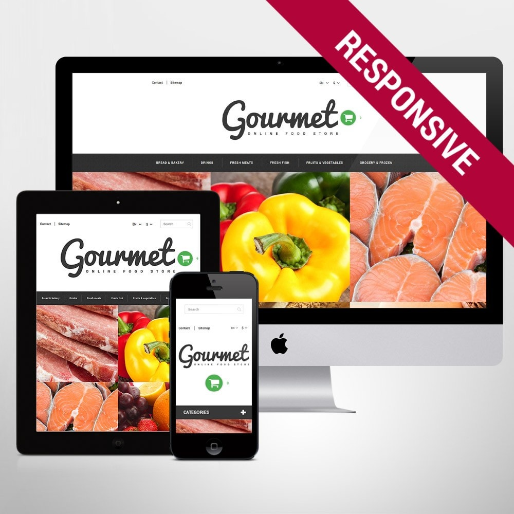theme - Alimentation & Restauration - Magasin d'alimentation - 1